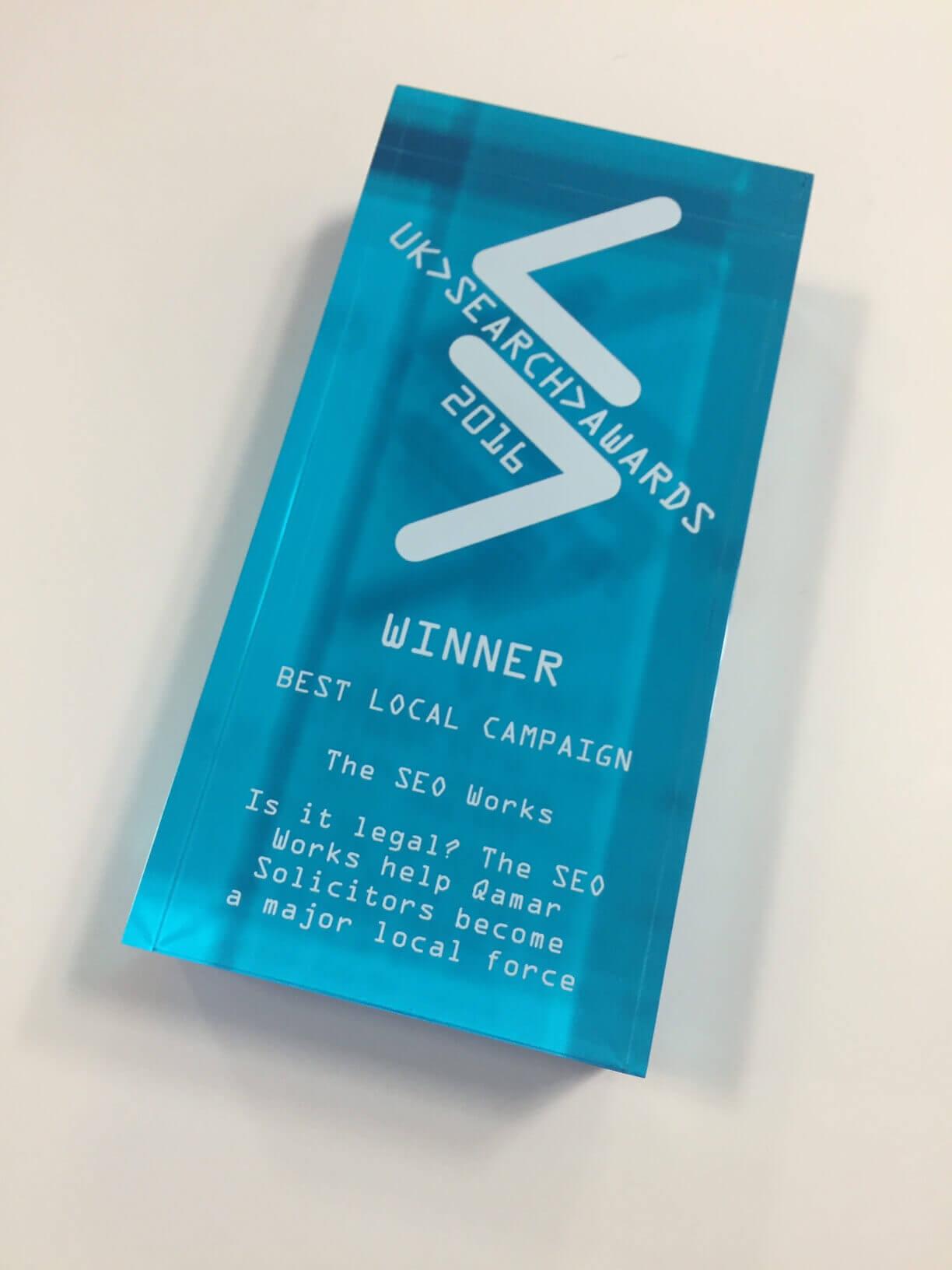 Award Winning Search UK Search Awards