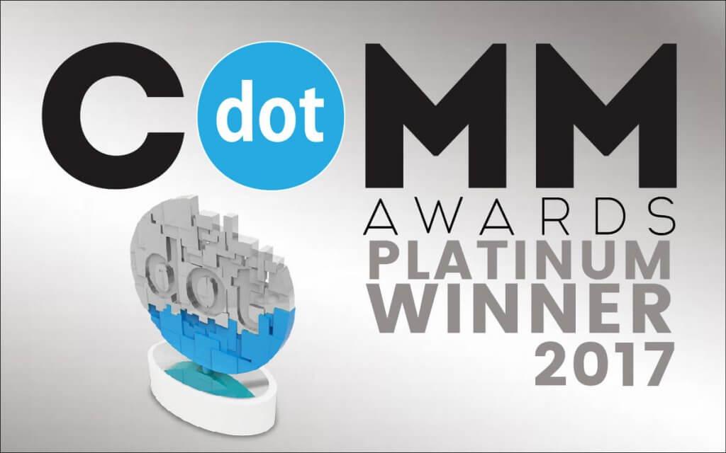 dotCOMM Awards Platinum Winner - SEOWorks