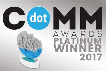 dotCOMM Platinum Award Winner