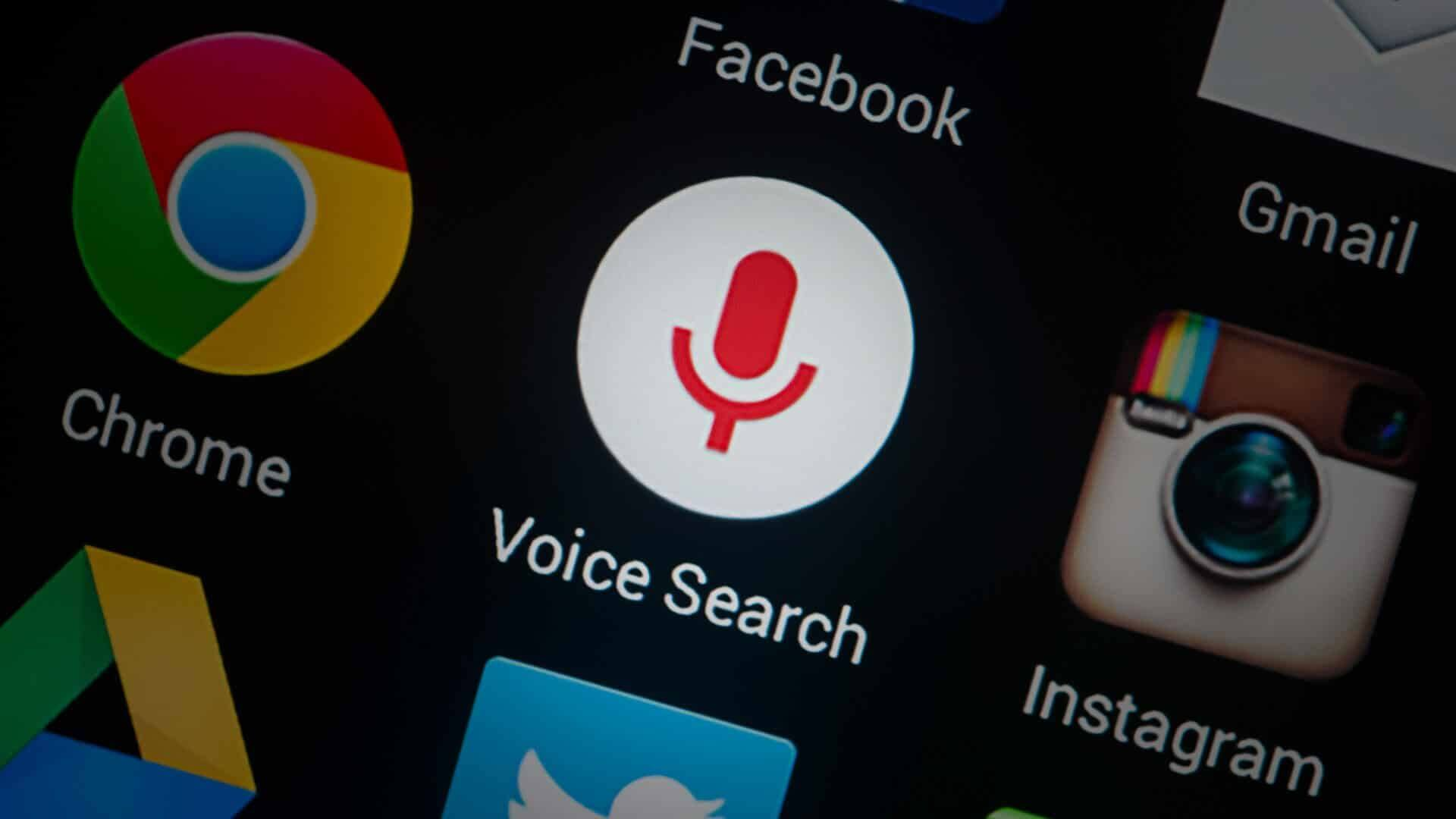 voice search markup