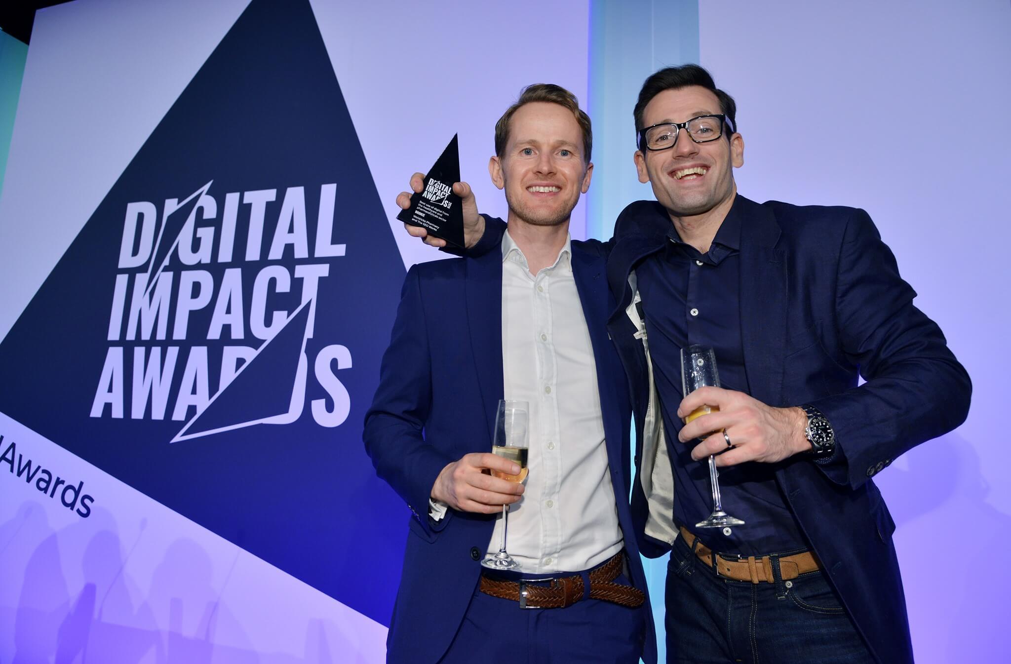 Digital Impact Awards Winner