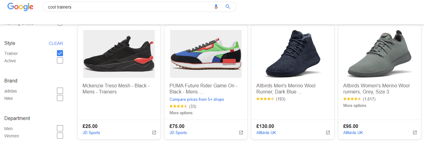 Google Shopping Agency